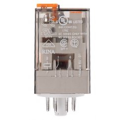 RELE SERIE 60 INDUSTRIAL 10A 120V AC 2P.