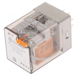 RELE SERIE 60 INDUSTRIAL 10A 380V AC 2P.