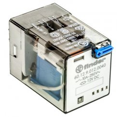 RELE SERIE 60 INDUSTRIAL 10A 12V DC 2P.
