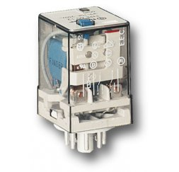 RELE SERIE 60 INDUSTRIAL 10A 24V DC 2P.