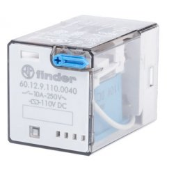 RELE SERIE 60 INDUSTRIAL 10A 125V DC 2P.