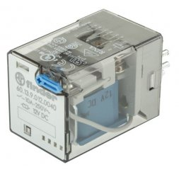 RELE SERIE 60 INDUSTRIAL 10A 12V DC 3P.