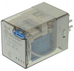 RELE SERIE 60 INDUSTRIAL 10A 48V DC 3P.
