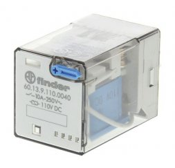 RELE SERIE 60 INDUSTRIAL 10A 125V DC 3P.