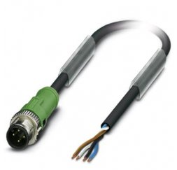 CONECTOR M12 4P CABLE 10 MTS RECTO